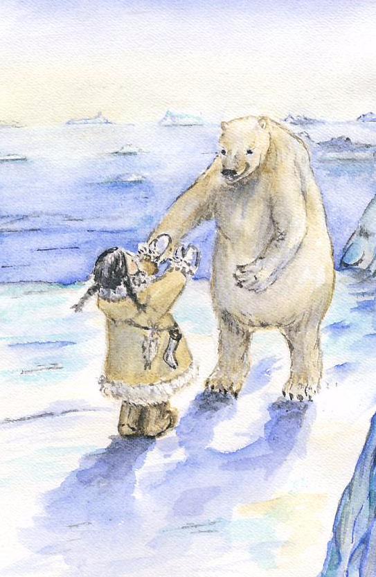 Møtet med isbjørnen